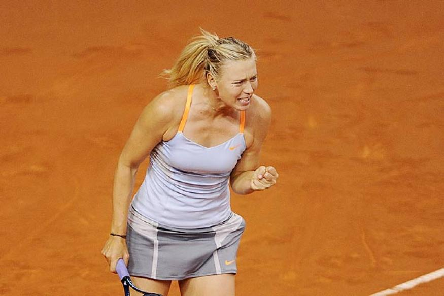 Sharapova edges Ivanovic to reach Stuttgart semis