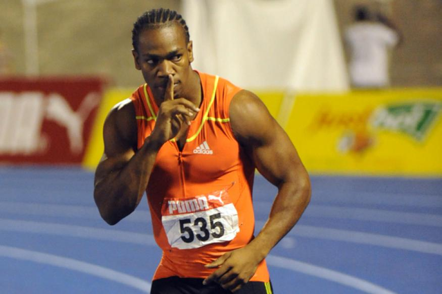 Yohan Blake suffers hamstring injury, out for six weeks