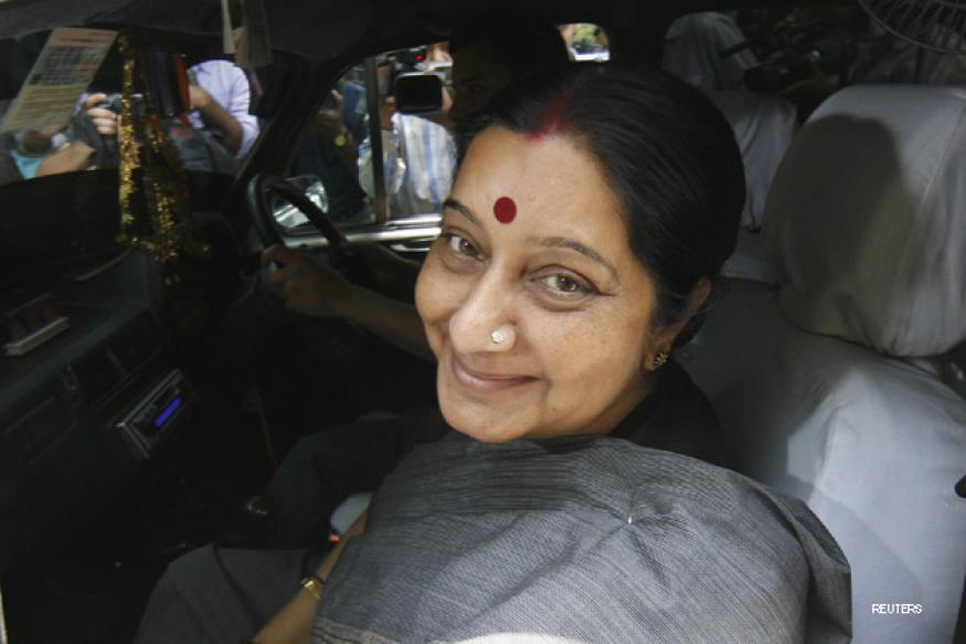 US Parliamentarians' delegation meets Sushma Swaraj