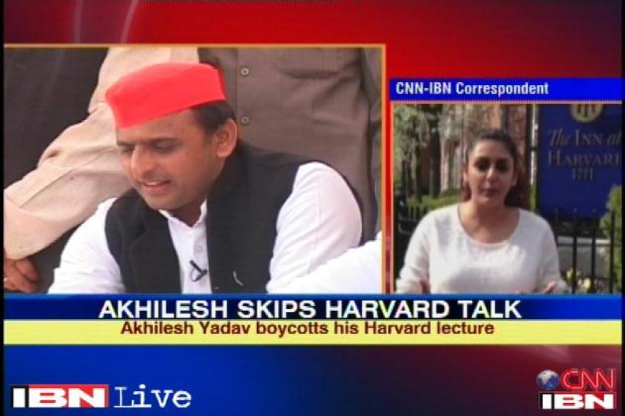 SP hails Akhilesh Yadav for calling off Harvard trip