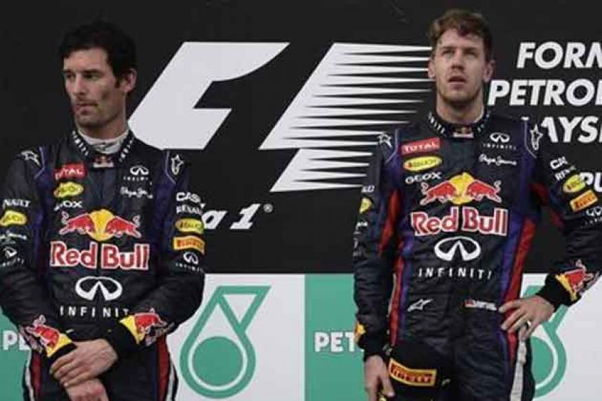 Webber did not deserve to win, says Vettel