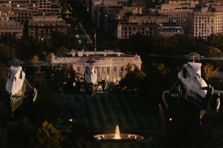 Watch: First trailer of 'White House Down'