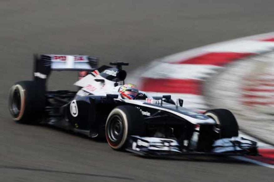 Formula One team Williams takes a loss in 2012