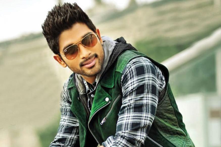 Allu Arjun shoots in Hyderabad for 'Race Gurram'