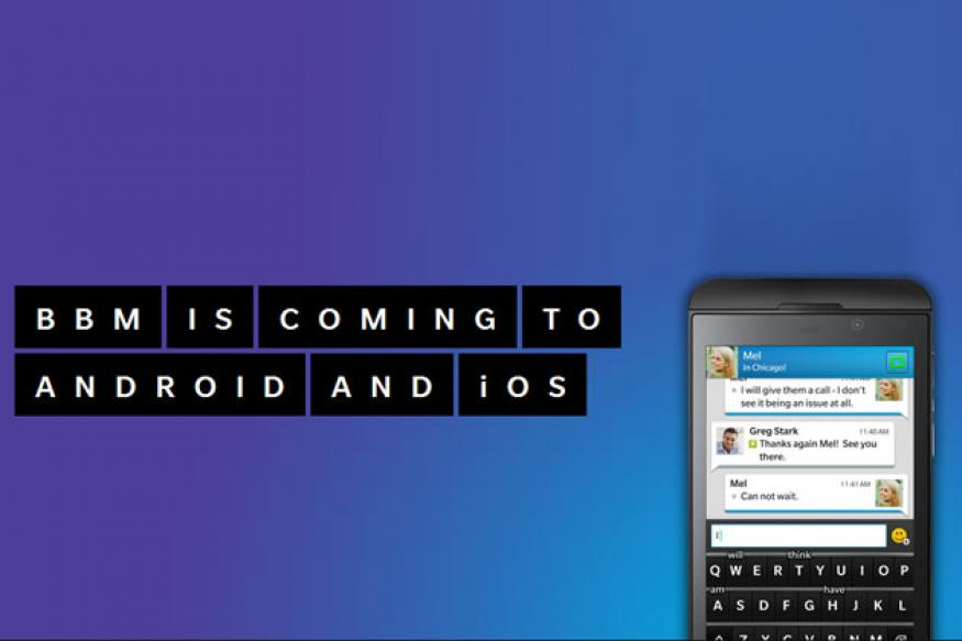 WhatsApp beware! BlackBerry to bring BBM to Android, iOS for free