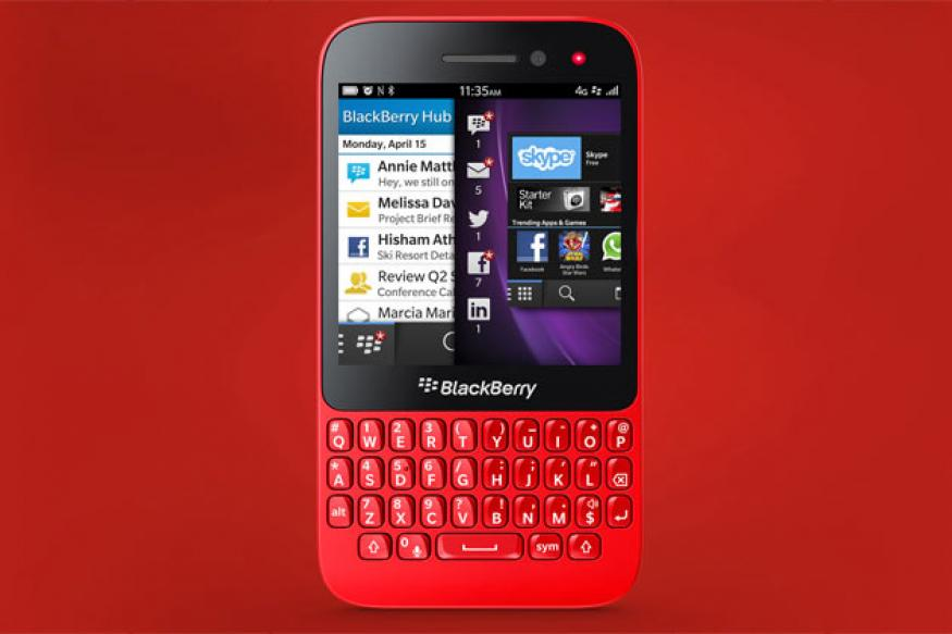Unveiled: New 'slim, sleek' BlackBerry Q5 with physical keyboard