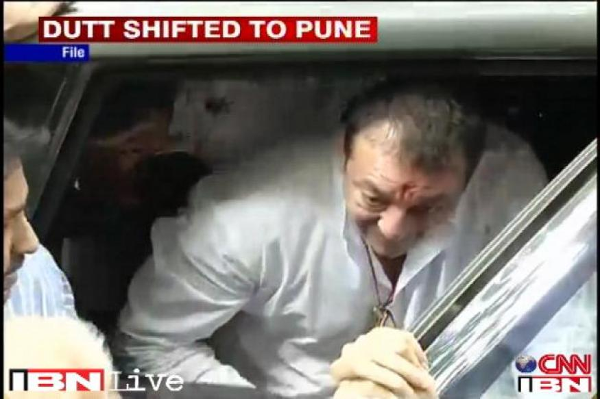 Sanjay Dutt is prisoner number 16656 at Pune's Yerwada Jail