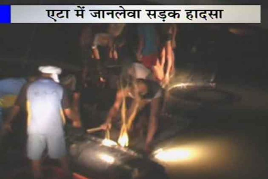 UP: 19 killed as bus falls into a canal in Etah