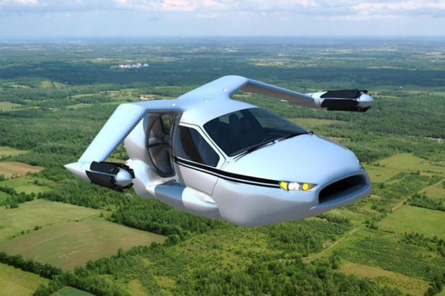 Terrafugia unveils a four-seater flying car