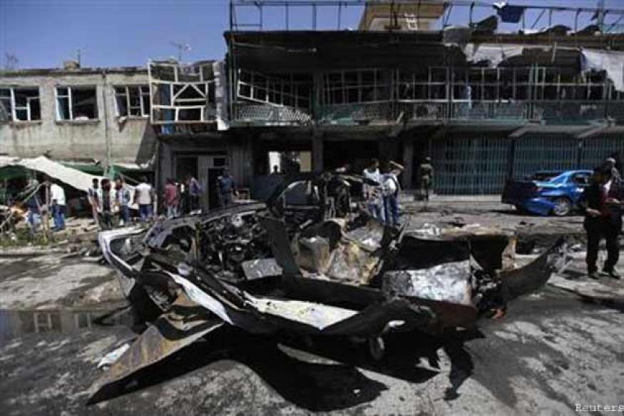 Bomber in Afghanistan kills 15, including six Americans