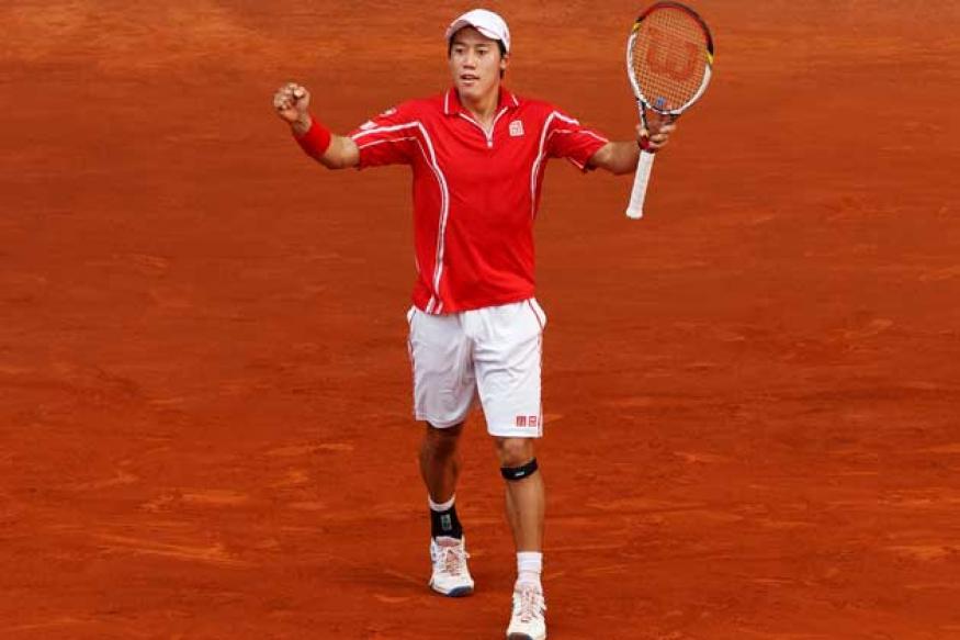 Federer loses to Nishikori at Madrid Open