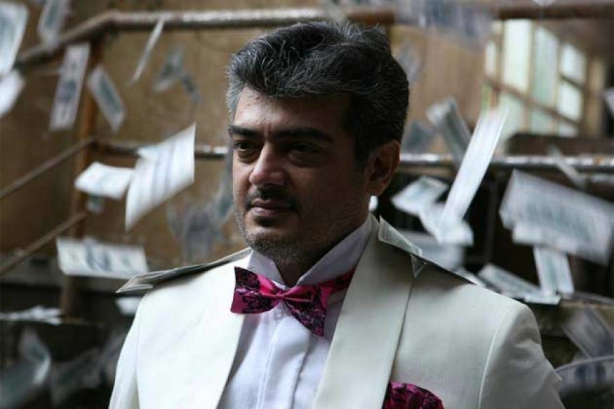 Ajith spends his birthday shooting for his upcoming film