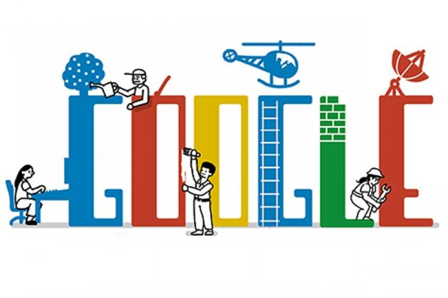 Labour Day 2013: Google builds a doodle for May Day