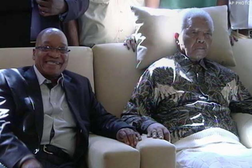 South African President criticised for broadcasting Mandela's video