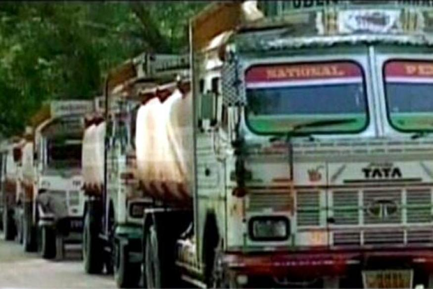 Goa: Transporters' stir against toll fee continues