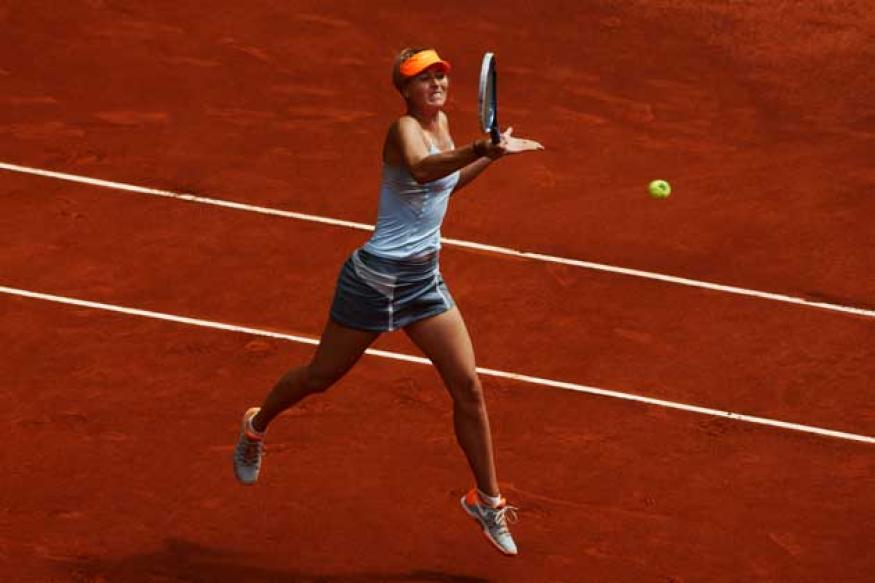 Nadal, Serena, Sharapova reach Madrid quarters