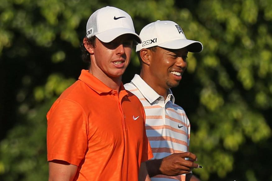 McIlroy, Woods make solid start at Players Championship