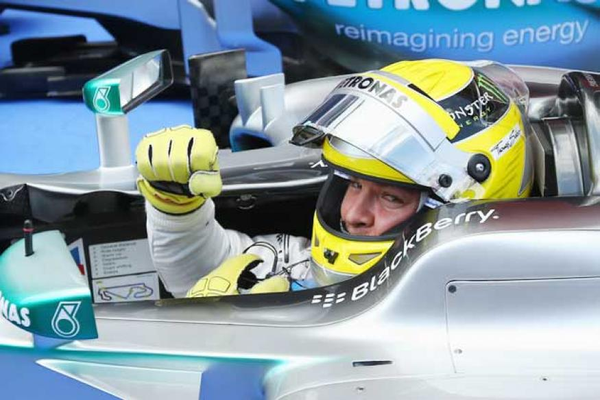 Nico Rosberg takes pole position for Monaco Grand Prix