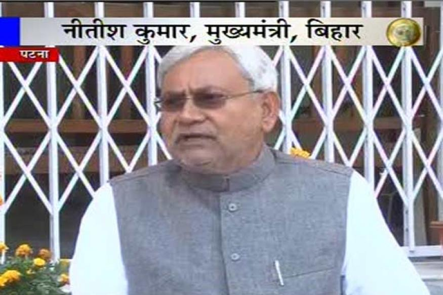 Bihar CM Nitish Kumar hails resignations, calls them late
