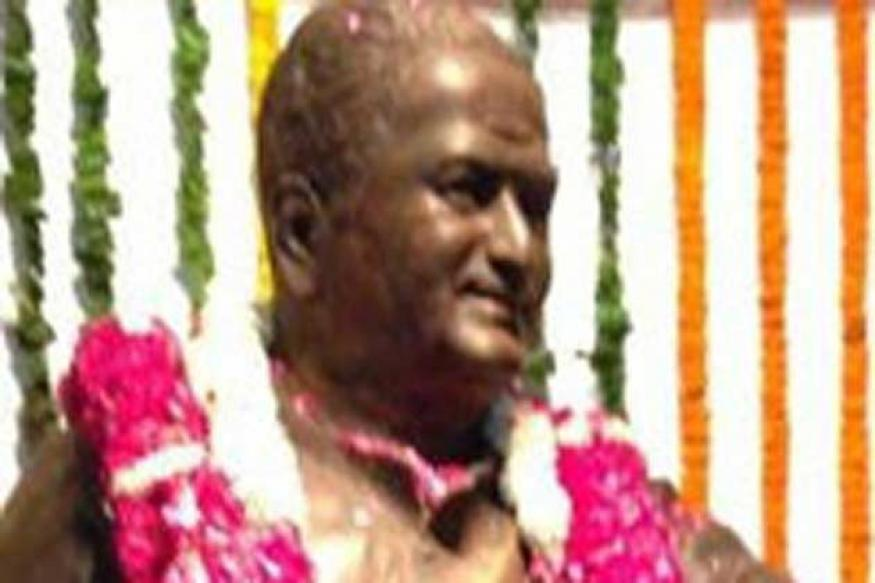 Veteran actor NTR statue unveiled in the Parliament today