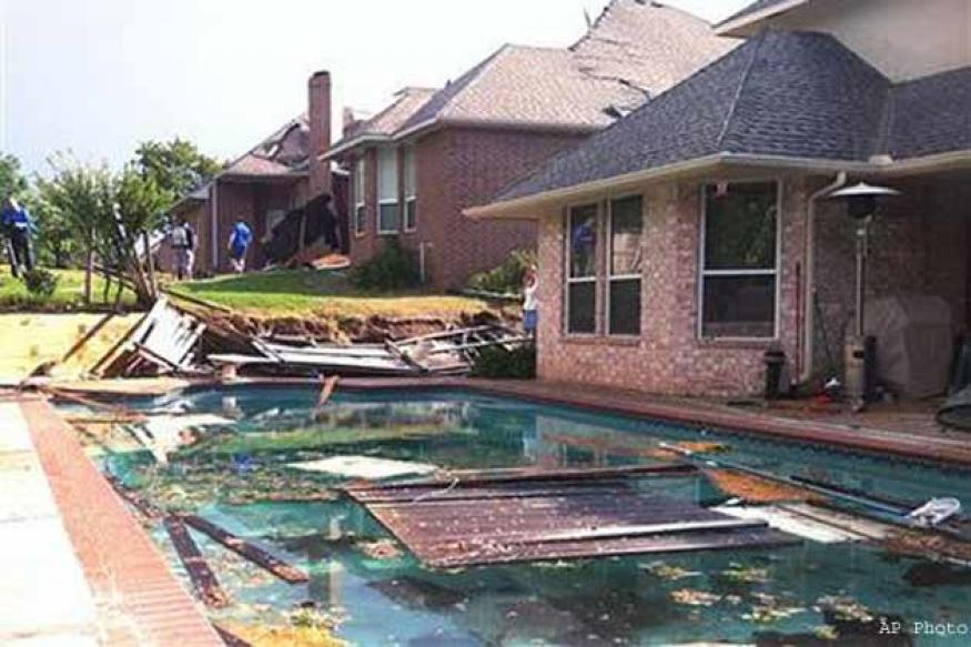 Tornado levels homes in oklahoma city trailer park news18 House builders in oklahoma