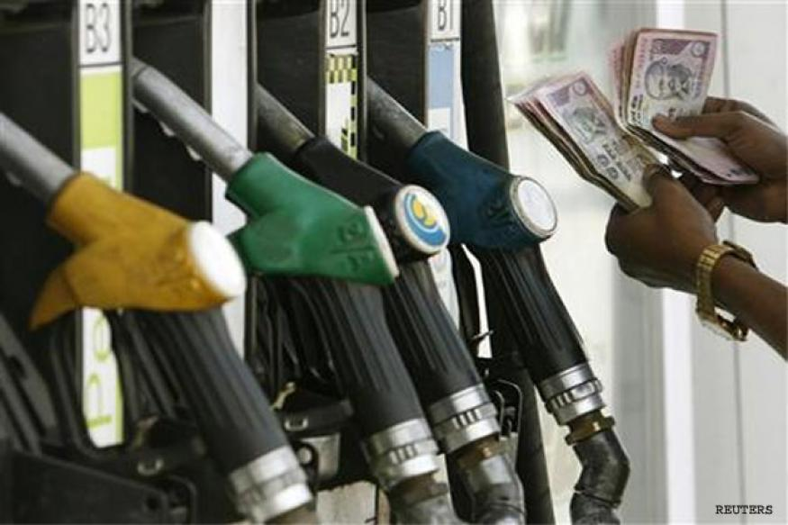 Petrol price hiked by 75 paise, diesel by 50 paise