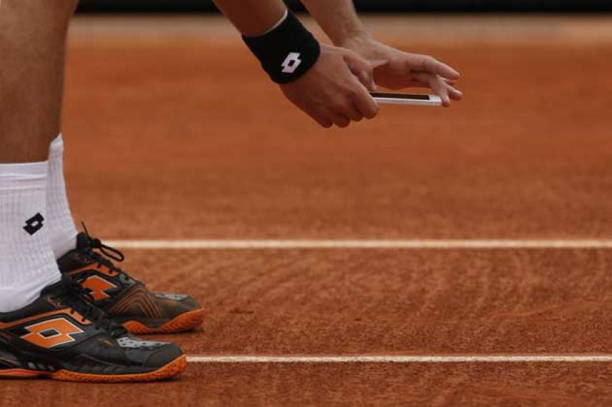 Photo-taking player fined USD 2,000 at French Open