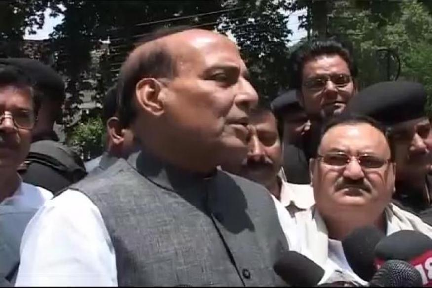 Rajnath Singh to lead BJP's UP 'jail bharo' stir
