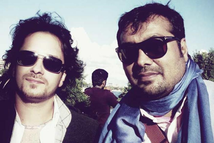 Snapshot: Anurag Kashyap hangs out with Raghav Sachar