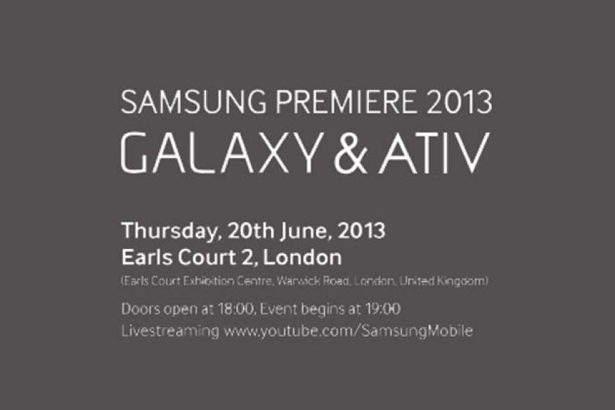 Samsung event on June 20; to unveil new Windows, Android devices