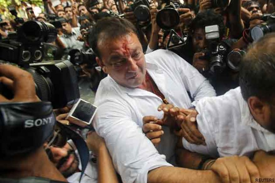 1993 Bombay blasts: Sanjay Dutt surrenders in court