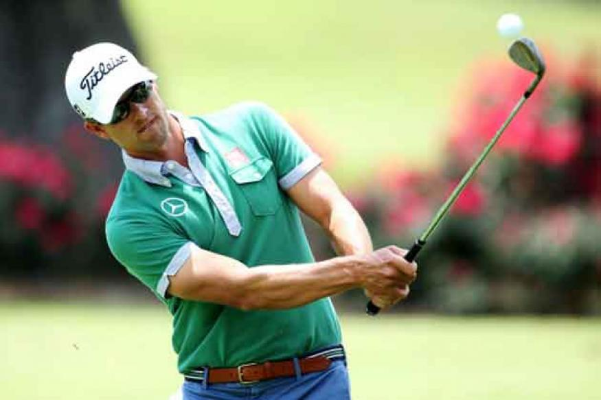Scott back at work after the high of Augusta win