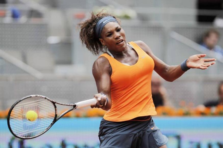 Serena makes serene progress into Madrid third round