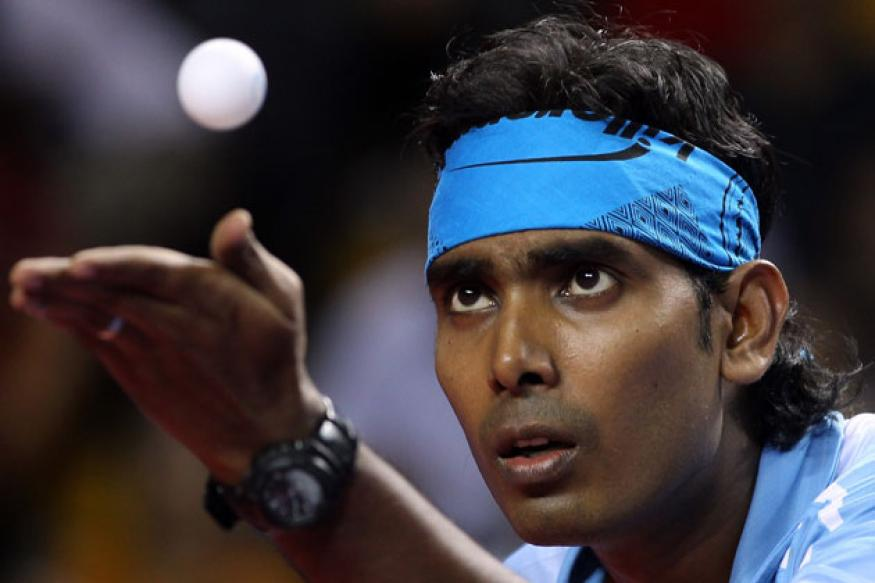 Sharath Kamal advances to round two at World TT