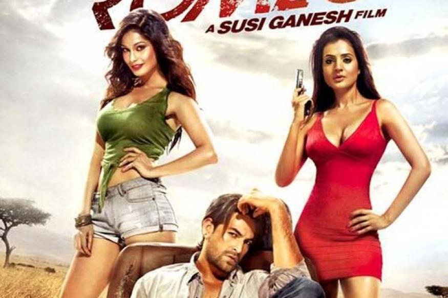 First Look: Ameesha Patel is all curves in this new poster of 'Shortcut Romeo'