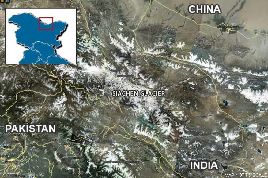 Army chopper crashes in Siachen, both pilots safe