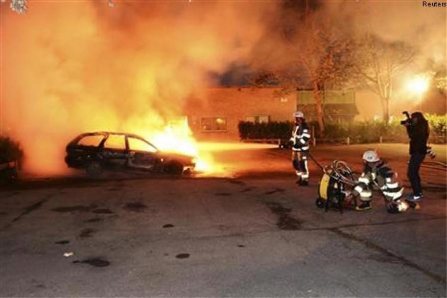 Sweden's capital hit by worst riots in years