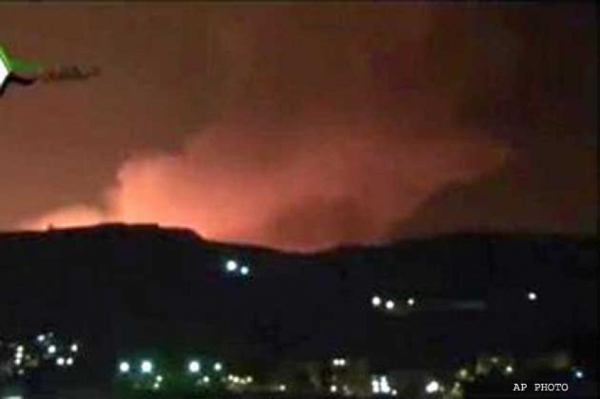 Tension escalates after Israel warplanes strike Syria