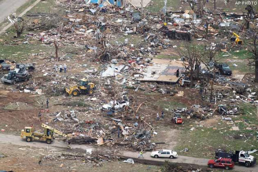 US: 16 deadly tornadoes tear through Texas, six killed