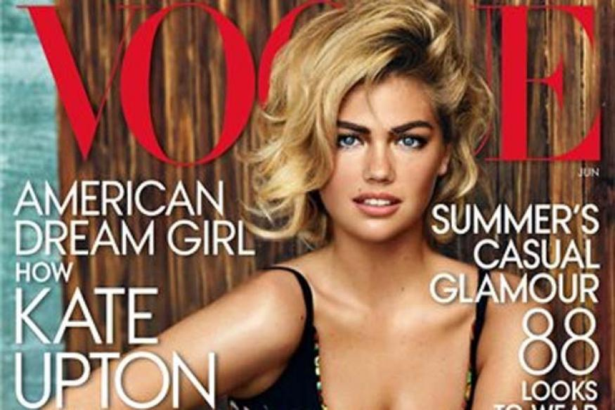 Snapshot: Model Kate Upton's terrific bikini cover for June issue of Vogue