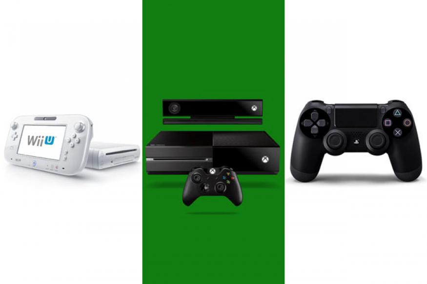 Microsoft Xbox One vs Nintendo Wii U vs Sony PlayStation 4