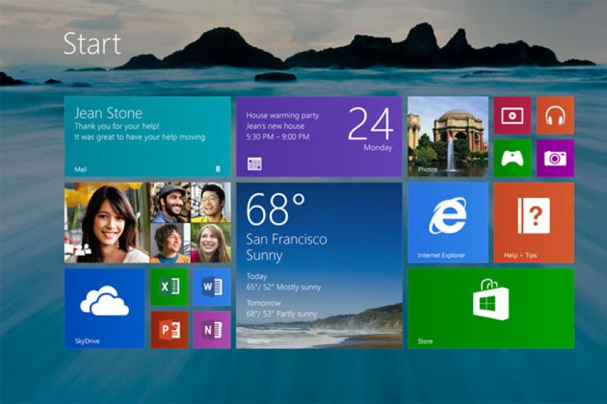 Microsoft brings back the 'start' button with Windows 8.1 update