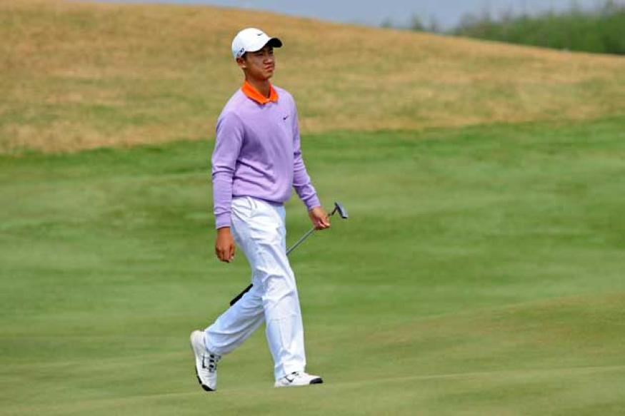 12-year-old Ye Wocheng of China struggles on European Tour debut