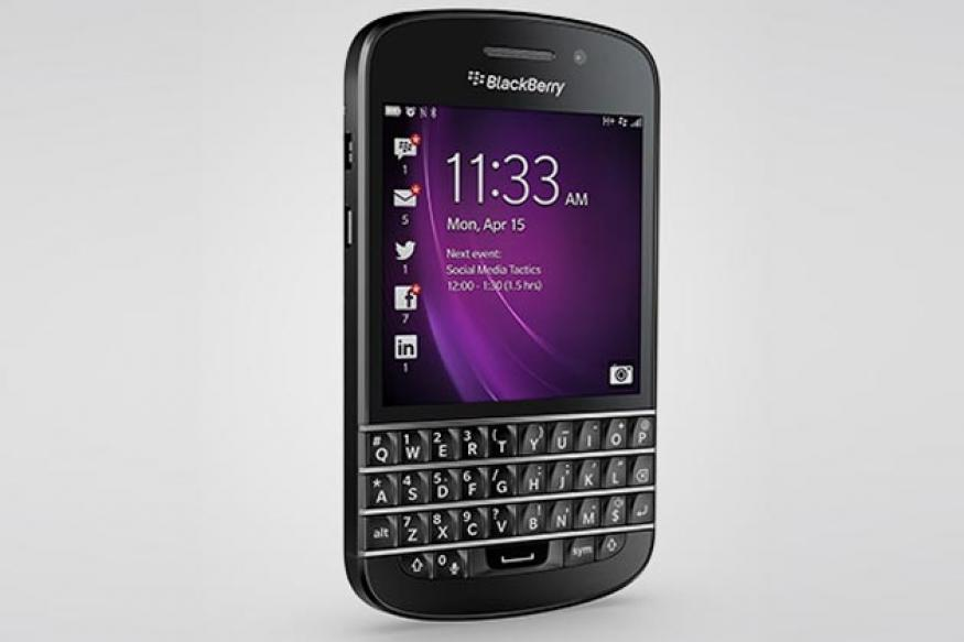 BlackBerry Q10 with physical keyboard launched in India at Rs 44,990