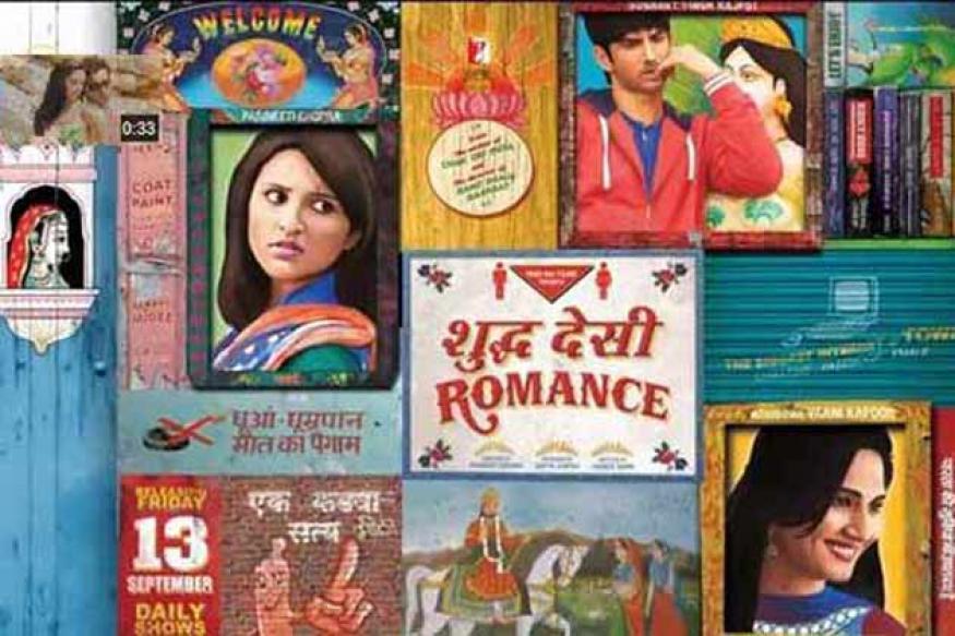 'Shuddh Desi Romance' First Look: Parineeti plays Sushant's love interest
