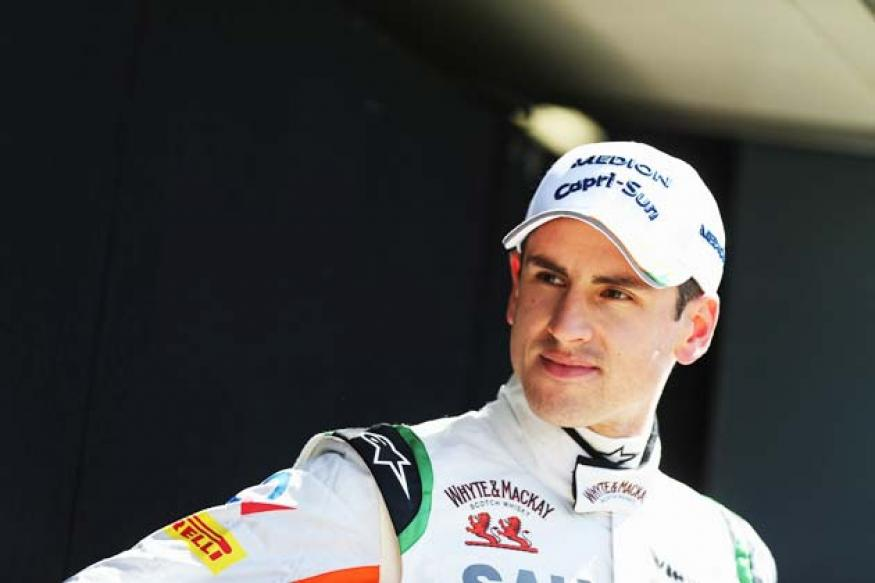 Adrian Sutil happy with solid Force India comeback