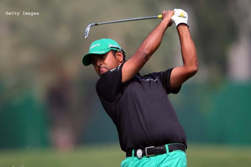 Lahiri finishes fourth after round three at Queen's Cup