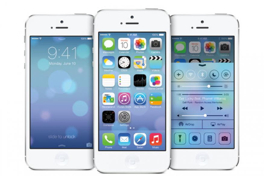 Apple unveils iOS 7; revamps look of iPhone, iPad software