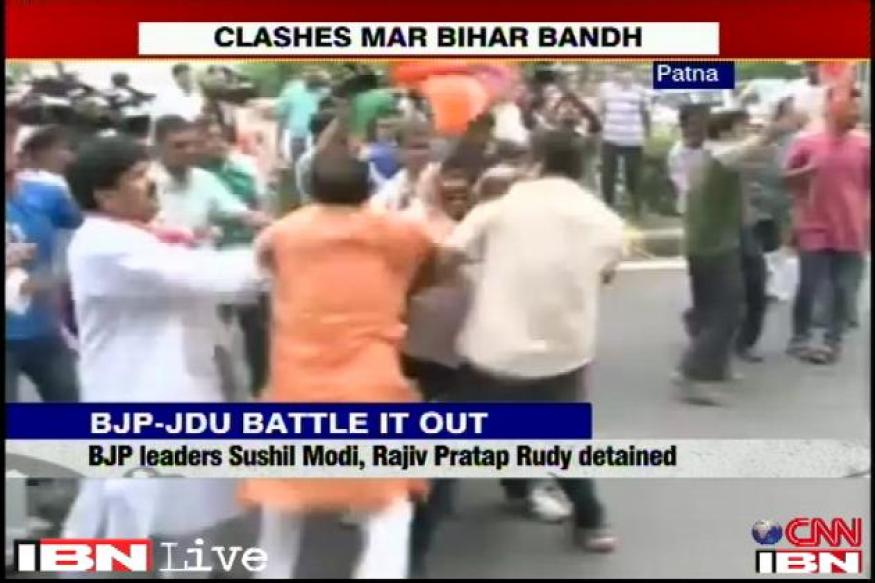 Nitish Kumar instructed JD(U) workers to attack BJP workers, alleges Mangal Pandey