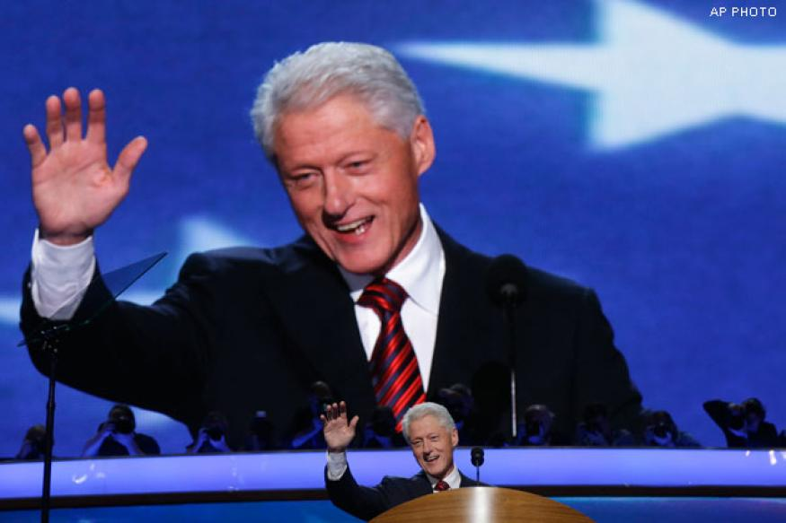 Former US President Bill Clinton named 'Father of the Year'